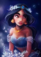 Jasmine in a Whole New World by Ludmila-Cera-Foce