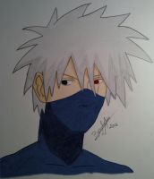 Kakashi 2 Color by AlienaXLoK