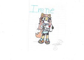 Irene the wolf--I love one piece-- by Nite3007