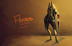 .:Anubis Concept.1:. by BlissfulGold