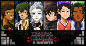 Trauma Team Book Covers by Aileen-Rose