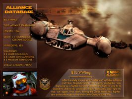 X-Wing Aliance Tech Library - Y-Wing by hangarbay94