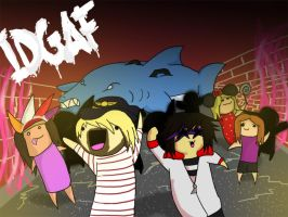 I.D.G.A.F -Breathe Carolina- by RaspberrySaladz