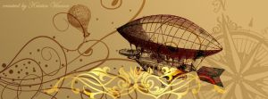 Airship Facebook Cover by CrystalKittyCat