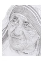 Mother Teresa by agfox49