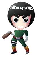 Smile Rock Lee by talachan