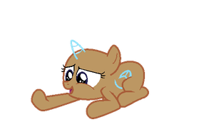 MLP Com'ere lil guy Filly Base by pinay4life001