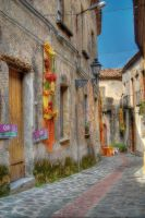 Street in village - HDR by yoctox