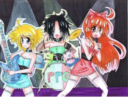 .:Powepuff Girls' Band:. by emiriicchan