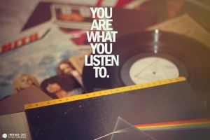 You are what you listen to. by Roy-Ba
