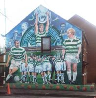Celtic mural by Keresaspa