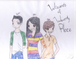 Wizards of waverly place by eriecat