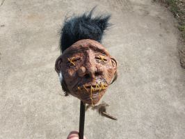 Shrunken head by fossilapostle