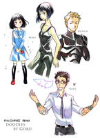 Pacific Rim doodles by Goku-chan