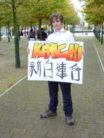 Kenichi cosplay sign by SOLDIER-1st-Class