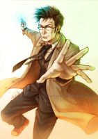 Doctor Who - Allons-y! by Lehanan