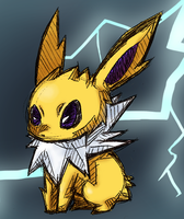 Jolteon the Lightning Pokemon by Millenium-Lint
