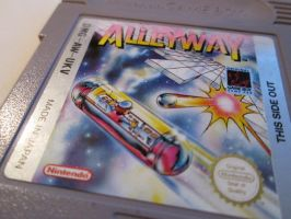 Alleyway Gameboy Game by SymbiopticStudios
