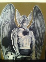 Hawkman by Stencils-by-Chase