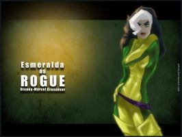 Esmeralda as Rogue Wallpaper by UDeeN