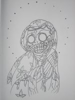 day of the dead mother mary by armada27