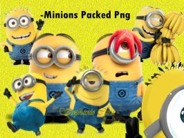 Minions Png Packed by StephanieCura24