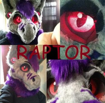 Raptor Costume by AfterGlowParty