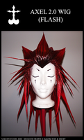 Axel Wig 2.0 by NailoSyanodel