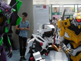 Anime Expo Day 4-  Liger Zero and the Evas (2) by MidnightLiger0