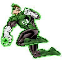 Green Lantern Hal by Joker-s-Wild