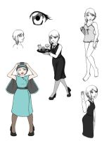 Lillian Doodles by Mifmemo
