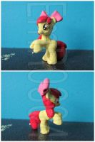 FOR SALE: Apple Bloom Blind Bag Custom G4 Pony by EmR0304
