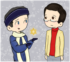 Can I Interest You in Hanukkah by FoxyRoxy237