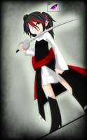 Black Butler oc- Odette by Darkemerald4578
