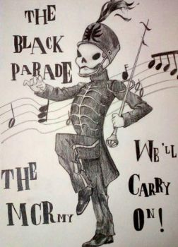The Black Parade skeleton. by KilljoyDay