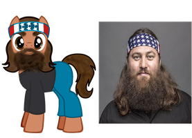 willie robertson ponified by kuren247