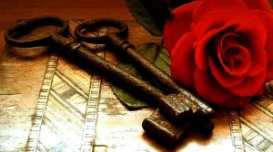 Two Keys Two Hearts by Forestina-Fotos