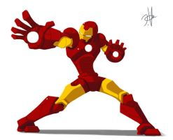 Iron man by chikinrise