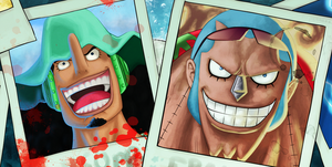 Usopp and Franky - K.O.-1 by McFrankyArt