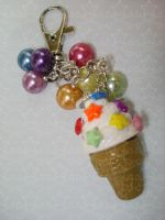 Ice Cream keychain by Candy27