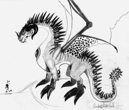 Hell Dragon by Amber-01