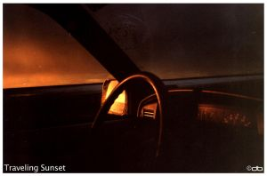 Traveling Sunset by debro