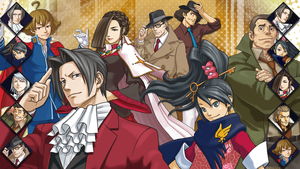 Ace Attorney (2) by AuraIan