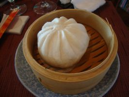 Steamed Pork Bun by DonnaDV87