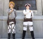 Attack On Titan Cosplay - Soilders by Binary-Overdrive