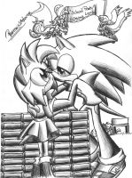 .:Sonic high School Contest:. by PhoenixSAlover