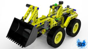 Lego Technic Digger by Rooboy3D