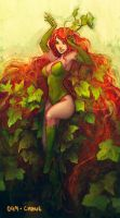 Poison Ivy speedpainting by Morgan-chane