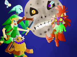 The Legend of Zelda: Majora's Mask by Illusionsdreamsfan