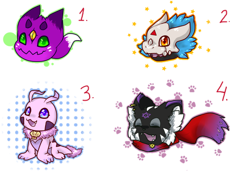 Baby Digimon Adoptables! [CLOSED]   50 points   by KyubeyGirl
